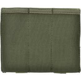 AMA Airsoft Tactical Triple Pistol Magazine Pouch - GREEN