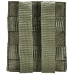 AMA Airsoft Tactical Double Pistol Magazine Pouch - GREEN
