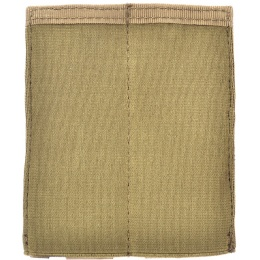 AMA Airsoft Tactical Double Pistol Magazine Pouch - TAN