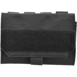 AMA 600D MOLLE Airsoft Shotgun 6-Shell Enclosed Holder - BLACK