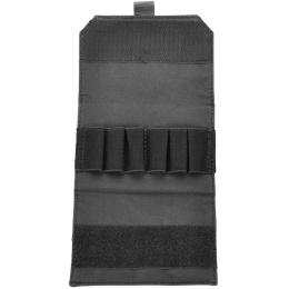 AMA 600D MOLLE Airsoft Shotgun 6-Shell Enclosed Holder - BLACK