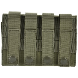 AMA 600D MOLLE Airsoft Shotgun 6-Shell Enclosed Holder - OD GREEN