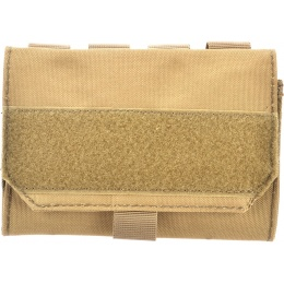 AMA 600D MOLLE Airsoft Shotgun 6-Shell Enclosed Holder - TAN