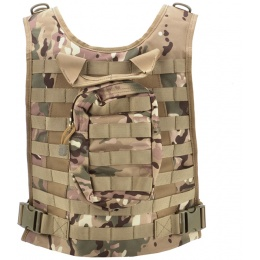 AMA Airsoft MOLLE Strikeforce 600D RRV Chest Rig - LAND CAMO