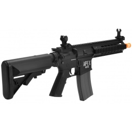 APEX Tactics Alpha Full Metal CQB M4 AEG w/ Picatinny RIS - BLACK