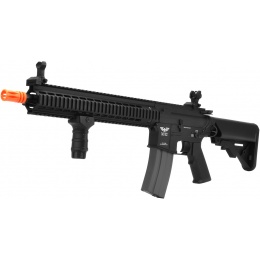 APEX Tactics Charlie Full Metal M4 AEG w/ Picatinny RIS - BLACK