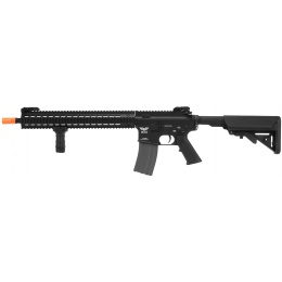 APEX Tactics Delta Full Metal M4 AEG w/ Picatinny RIS - BLACK