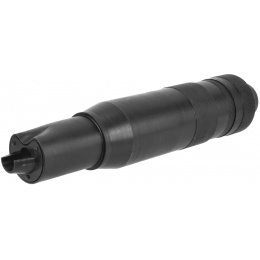 LCT Airsoft AK Series Rifle AEG PBS-4 Mock Suppressor- BLACK