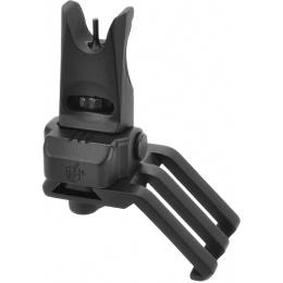 Lancer Tactical One O'Clock Offset Flip-up Backup Sights - BLACK