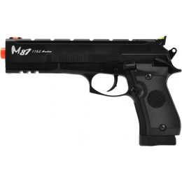 WG M87 Archer Full Metal CO2 Gas Blowback Airsoft Pistol - BLACK
