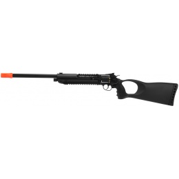 WG Herd Wolf Full Metal CO2 Revolver Rifle - BLACK