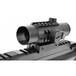 AMA 7-Intensity Airsoft 1x30 Red Dot Scope w/ Rail Mount