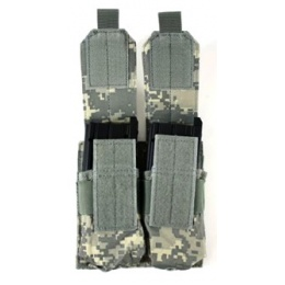 AMA MOLLE Double Airsoft Rifle Magazine Pouch - ACU