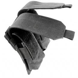 AMA 600D MOLLE Double Rifle Airsoft Magazine Pouch - BLACK