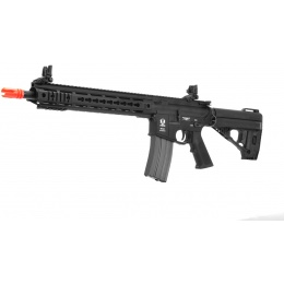 Spartan Full Metal Airsoft AEG SRX 300 Blackout Series 309 Carbine Rifle