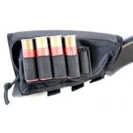 AMA Buttstock Airsoft Shotgun Shell Holder - BLACK