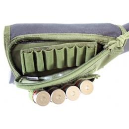 AMA Buttstock Airsoft Shotgun Shell Holder - OD GREEN