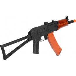CYMA Full Metal AK-74UN Airsoft AEG Rifle - REAL WOOD