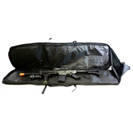 AMA 600D DualStor 47-Inch Deluxe Airsoft Gun Bag - BLACK