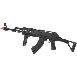 Lancer Tactical AK47U RAS Folding Stock Tactical Airsoft AEG Rifle