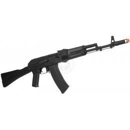 CYMA CM047C AK-74M Airsoft AEG Rifle w/ Side-Folding Stock - BLACK