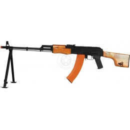 CYMA RPK LMG CM052 Full Metal Airsoft AEG Rifle w/ Side Mount