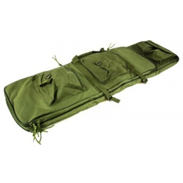 AMA Double Storage 38-Inch Deluxe Airsoft Gun Bag - OD GREEN
