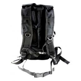 AMA MOLLE Alpha-7 Hydration Pack w/ 2L Bladder - BLACK