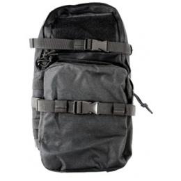 AMA MOLLE Alpha-5 Hydration Pack w/ Bladder Storage - BLACK
