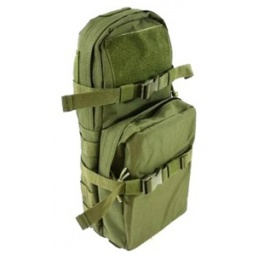 AMA MOLLE Alpha-8 Hydration Pack w/ Bladder Storage - OD GREEN