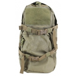 AMA MOLLE Alpha-8 Hydration Pack w/ Bladder Storage - TAN