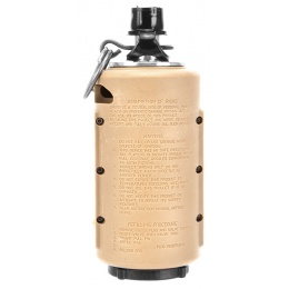Airsoft Innovation Tornado Timer Grenade - 200 BBs - TAN