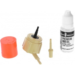 Airsoft Innovations Gun Gas High Strength Propane Adapter Kit w/ Pump
