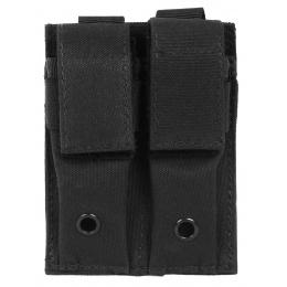 AMA 600D MOLLE Double Pistol Mag Pouch - BLACK