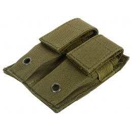 AMA 600D MOLLE Double Pistol Mag Pouch - OD GREEN