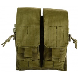 AMA 600D MOLLE M4 Double Rifle Mag Pouch - OD GREEN