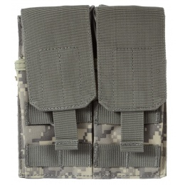 AMA 600D MOLLE G36 Double Airsoft Rifle Mag Pouch - ACU