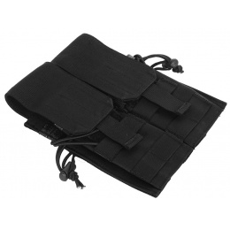 AMA 600D MOLLE G36 Double Rifle Airsoft Mag Pouch - BLACK