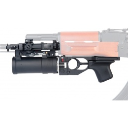 Lancer Tactical AK Series Mountable Grenade Launcher with Shell