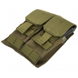 AMA MOLLE G36 Double Rifle 600D Airsoft Magazine Pouch - OD