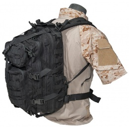 AMA Airsoft MOLLE Hydration Ready 3P Backpack - BLACK