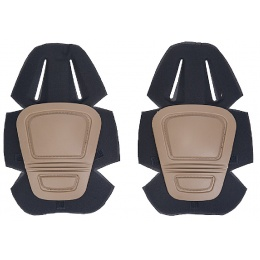 AMA Airsoft Knee Pads for Generation 2 and 3 Combat Pants - TAN