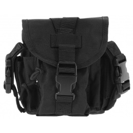 AMA MOLLE Large Utility Airsoft Pouch - BLACK