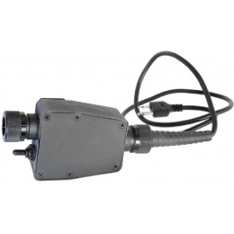 AMA Tactical PTT TEA Z116 Type 2-Pin Version - BLACK