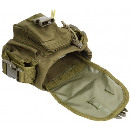 AMA MOLLE Large Utility Airsoft Pouch - OD GREEN