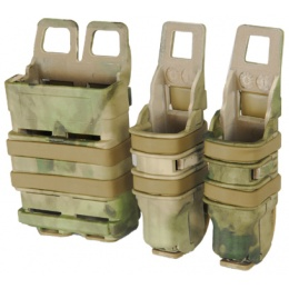 UK Arms Single Rifle/ Double Pistol Quick Detach Pouches - AT-FG