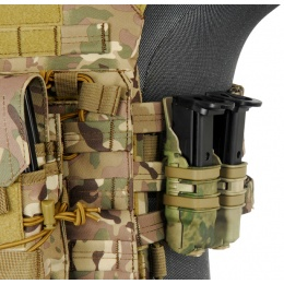UK Arms Single Rifle/ Double Pistol Quick Detach Pouches - HLD