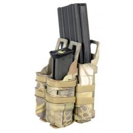 UK Arms Single Rifle/ Double Pistol Quick Detach Pouches - MDR