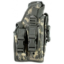 AMA Airsoft Large Frame Drop Leg Airsoft Pistol Holster - ACU