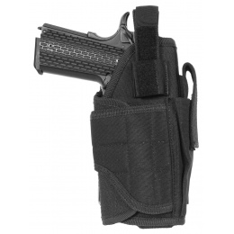 AMA Airsoft Universal Drop Leg WrapLock Pistol Holster - BLACK